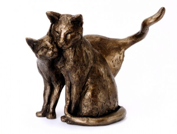 Making Friends bronze by Frith Sculpture