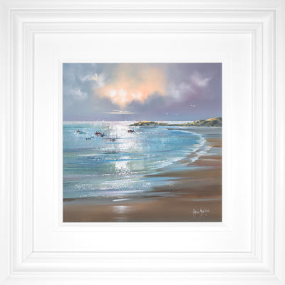 Seashore Serenity Original Painting by Allan Morgan