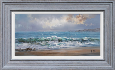 Shoreline original painting by Allan Morgan