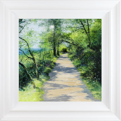 Spring Shadows limited edition print by Heather Howe