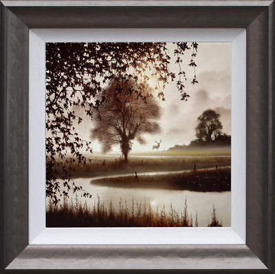 Stillness of Time limited edition framed print by John Waterhouse