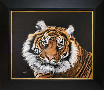 Sumatran Tiger Original Painting by Sue Payton