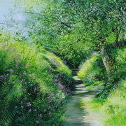 Sunlit Pathway limited edition print by Heather Howe