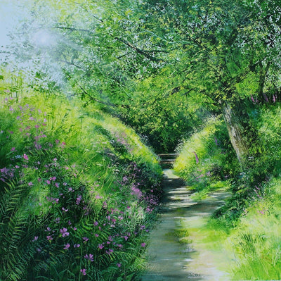 Sunlit Pathway by Heather Howe
