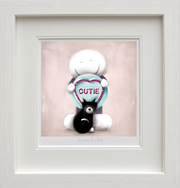 Super Cutie limited edition framed print by Doug Hyde