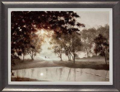 Taking Some Time For Us limited edition framed print by John Waterhouse