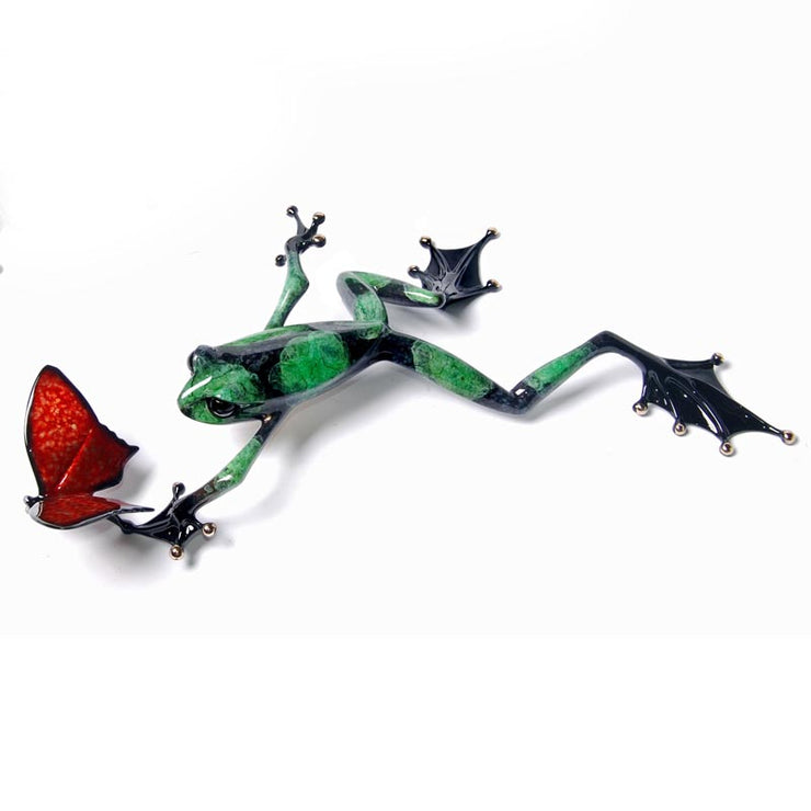 Taking Flight Bronze Sculpture by Tim Cotterill Frogman Limited Edition