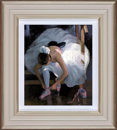 The Pink Slipper limited edition print by Sherree Valentine Daines