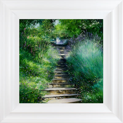 The Garden Flight limited edition print by Heather Howe