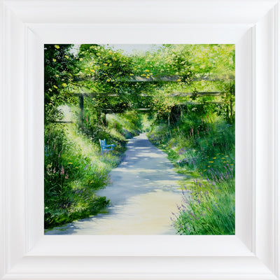 The Rose Walk limited edition print by Heather Howe