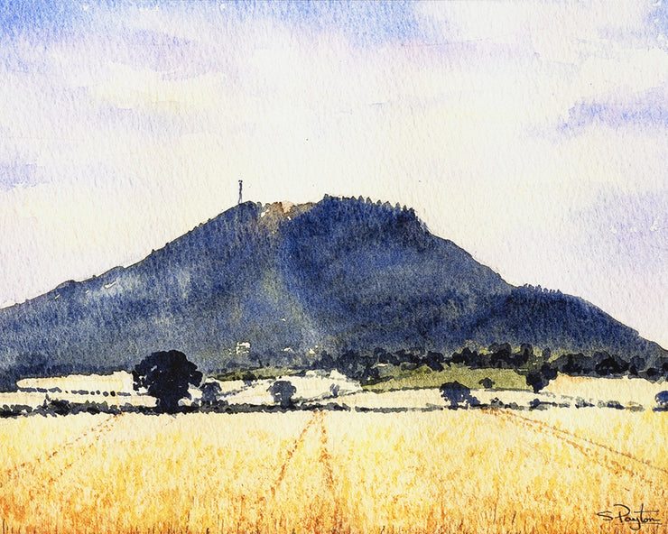 The Wrekin Shropshire Print by Sue Payton