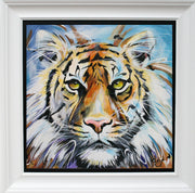Tiger limited edition print by Susan B Leigh