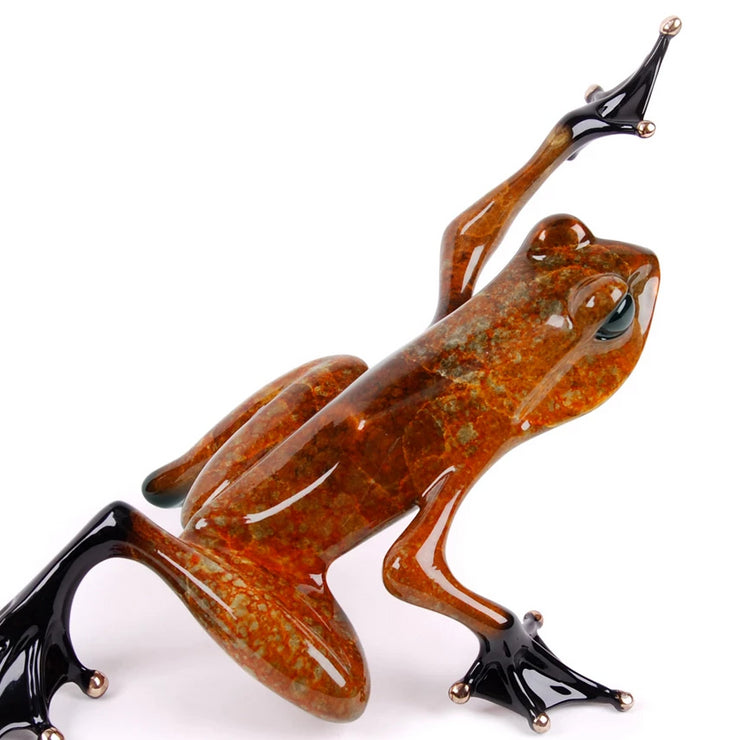 Ace II Limited Edition Bronze Sculpture by Tim Cotterill Frogman
