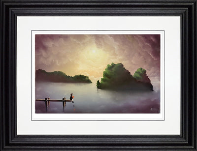 True Love limited edition framed print by Mackenzie Thorpe