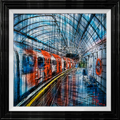 Underground Original Painting by Nigel Cooke