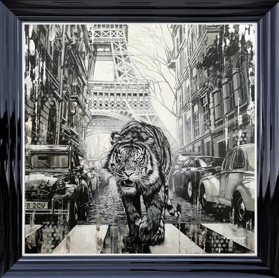 Urban Hunter limited edition canvas print by Ben Jeffery