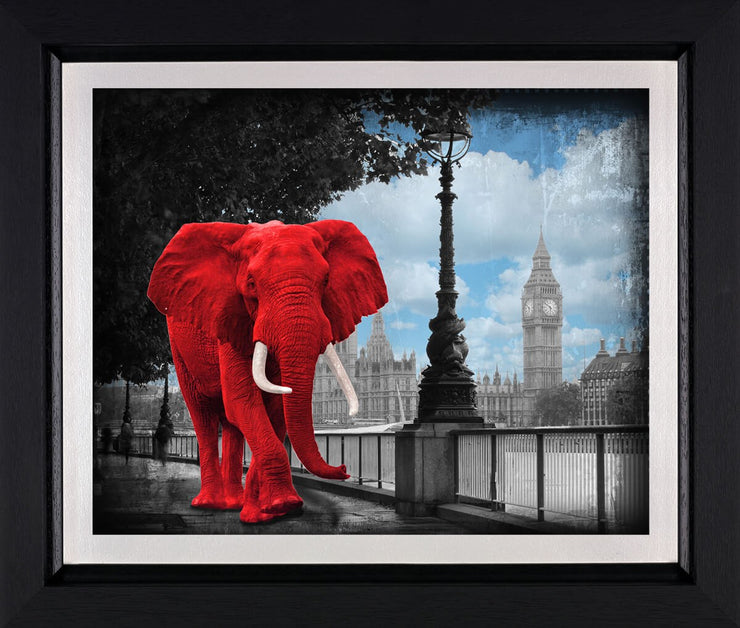 Westminster Wanderer limited edition framed print by Lars Tunebo