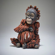 Baby Orangutan by Edge Sculpture from Matt Buckley