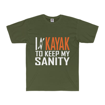 'Kayak Sanity' Adult Tee