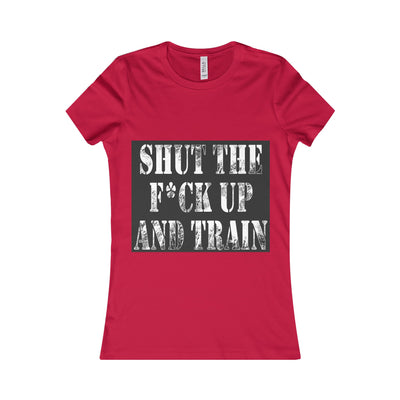 'Shut Up and Train' Women's Tee