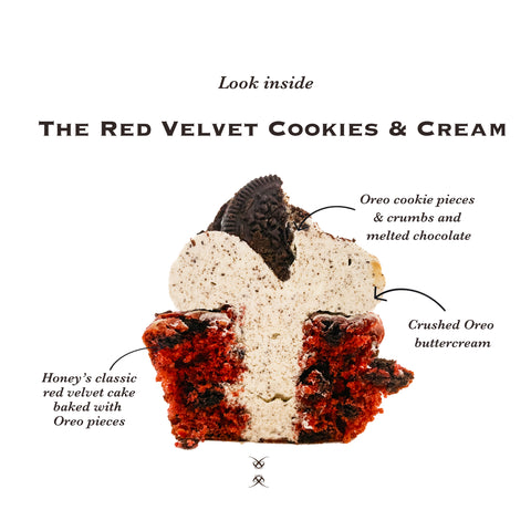 The Red Velvet Cookies and Cream