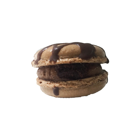 The Death by Chocolate Macaron