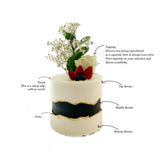 """How do you want it?"": Build Your Own Faultline Cake - Color Contrast"