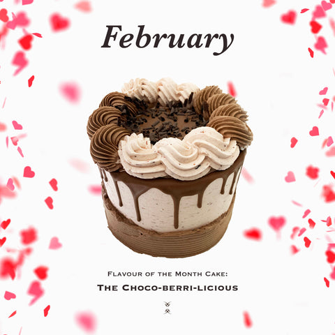 The February 2020 Flavor of the Month Cake: The Choco-Berri-Licious
