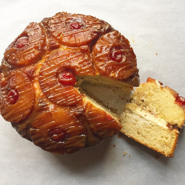 The Pineapple Upside-down Cake