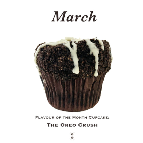 March 2019 Flavour of the Month Cupcake: The Oreo Crush