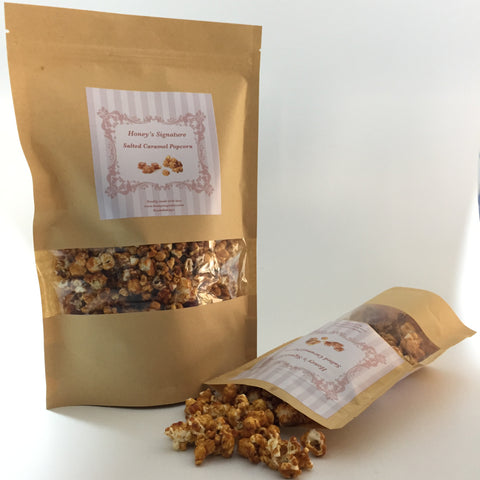 Honey's Signature Salted Caramel Popcorn