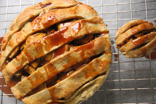 The Salted Caramel Apple Pie