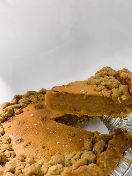 Holiday 2020: The Salted Honey Crumble Pie