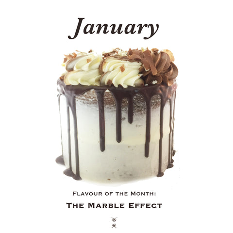 January 2019 Flavour of the Month: The Marble Effect Cake
