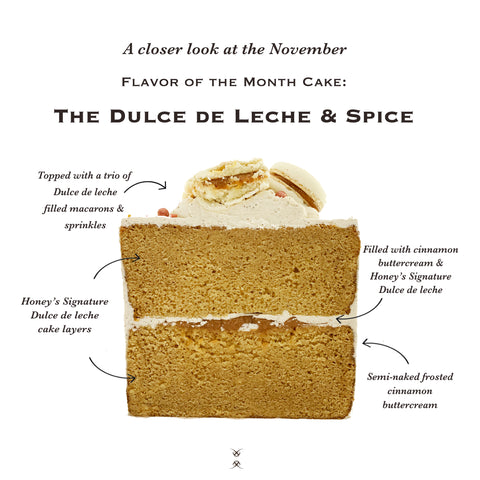 November 2020 Flavor of the Month Cake: The Dulce de Leche & Spice