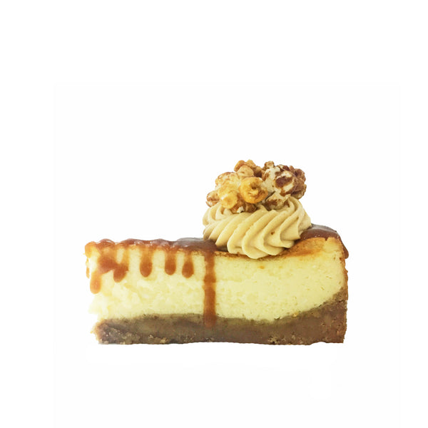 The Salted Caramel Cheesecake