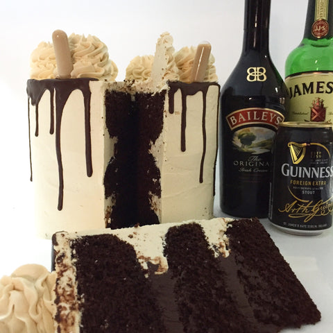 The Guinness, Jameson & Bailey's Cake