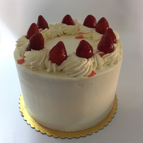 The Strawberries & Cream Cake