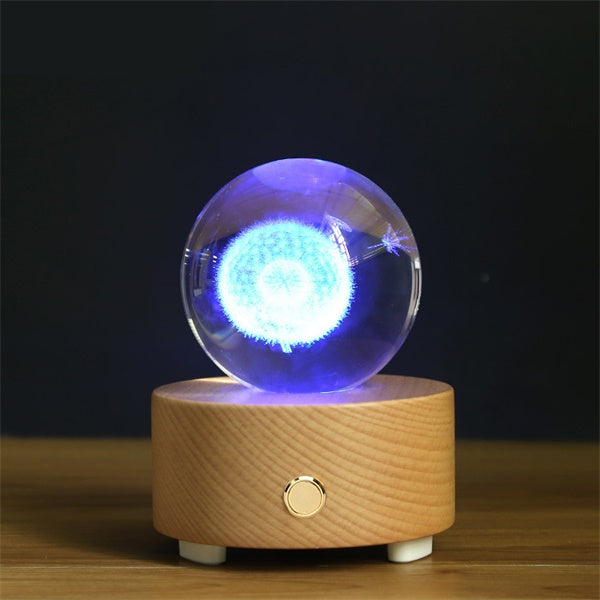 Dandelion Crystal Ball Bluetooth Music Box