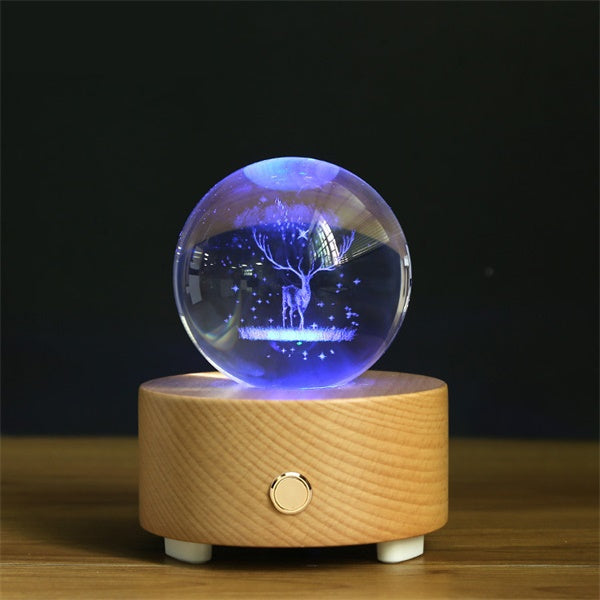 Crystal Ball Bluetooth Music Box