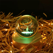 Elk Crystal Ball Bluetooth Music Box