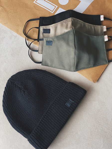 URBAN PACK I (Enjoy Beanie + Tripack Urban Masks)