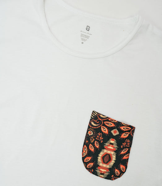 Quimera Pocket Tee 2020 - Blanco
