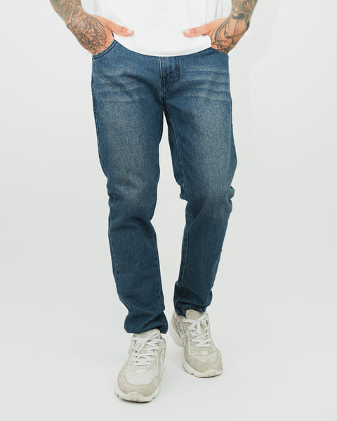 Street Jean - Regular Fit Clásico - Acero