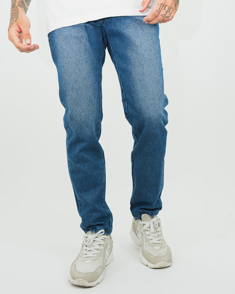 Street Jean - Regular Fit Clásico - Azul
