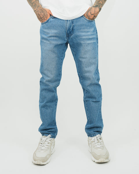Street Jean - Regular Fit Clásico - Celeste