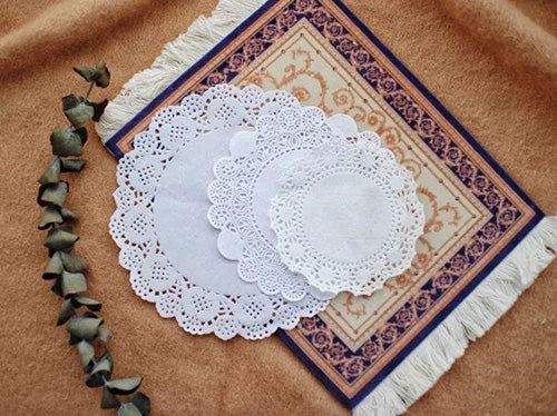 Bullet Journal Ideas - The Unexpected Delights of Paper Doilies