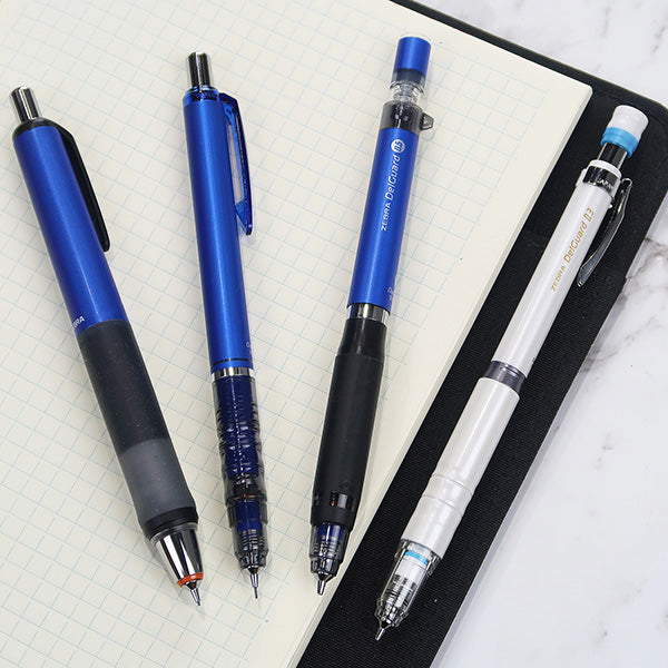 Maybe the Most Reliable Mechanical Pencil? Let's Test the Zebra DelGuard Series.