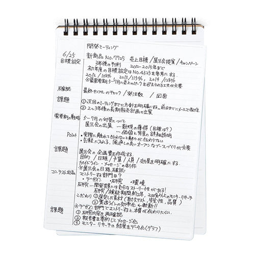 Maruman Mnemosyne N196 Special Memo Notebook - Ruled - B6