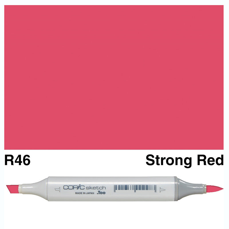 Copic Sketch Marker - Red Colour Range